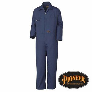 Pioneer 7-Pocket Heavy-Duty Work Coverall